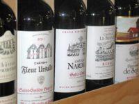 Etiquette de bouteille de vin